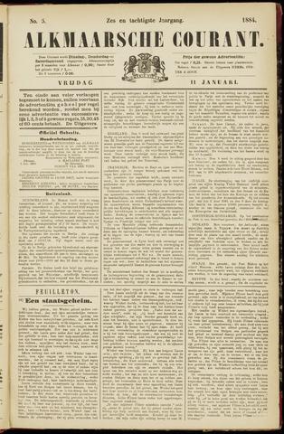 Alkmaarsche Courant 1884-01-11