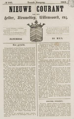 Nieuwe Courant van Den Helder 1862-05-24