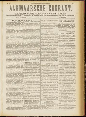 Alkmaarsche Courant 1915-04-15