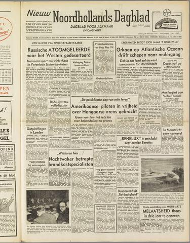 Nieuw Noordhollandsch Dagblad : voor Alkmaar en omgeving 1951-12-29
