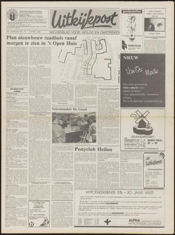 Uitkijkpost : nieuwsblad voor Heiloo e.o. 1988-04-13