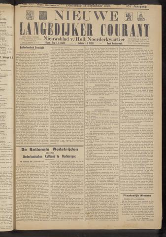 Nieuwe Langedijker Courant 1928-09-13