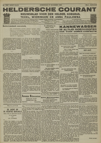 Heldersche Courant 1930-11-27