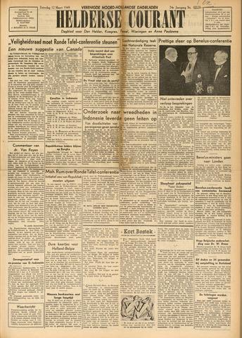 Heldersche Courant 1949-03-12