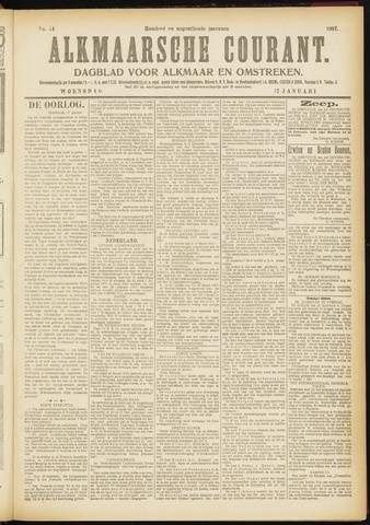 Alkmaarsche Courant 1917-01-17