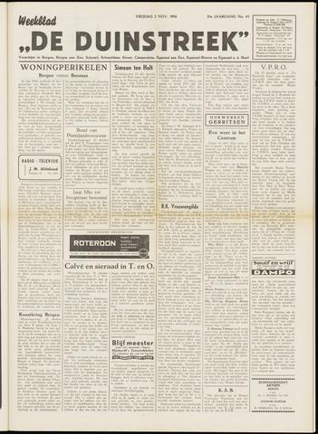 De Duinstreek 1956-11-02