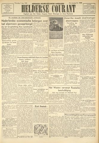 Heldersche Courant 1949-08-03