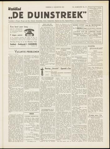 De Duinstreek 1952-08-15