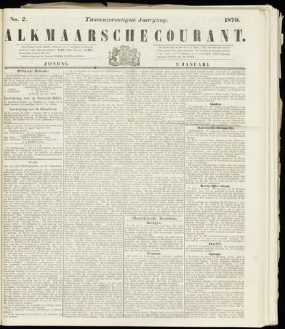 Alkmaarsche Courant 1870-01-09