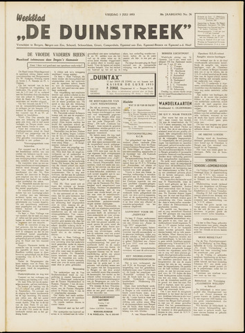 De Duinstreek 1953-07-03