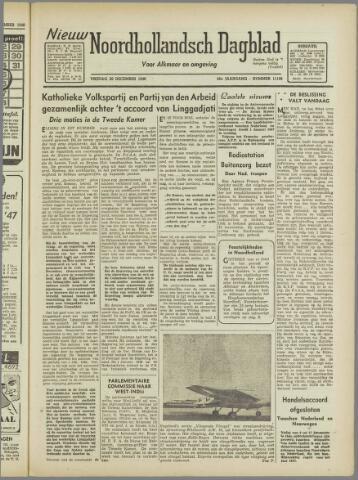 Nieuw Noordhollandsch Dagblad : voor Alkmaar en omgeving 1946-12-20