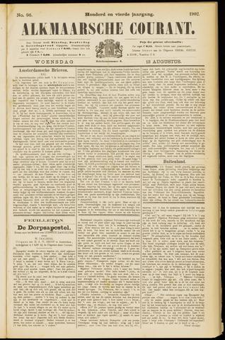 Alkmaarsche Courant 1902-08-13