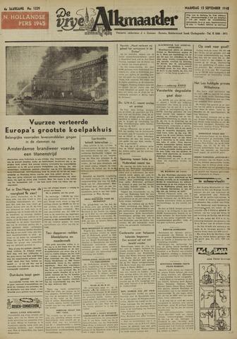 De Vrije Alkmaarder 1948-09-13