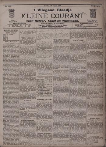 Vliegend blaadje : nieuws- en advertentiebode voor Den Helder 1900-01-13