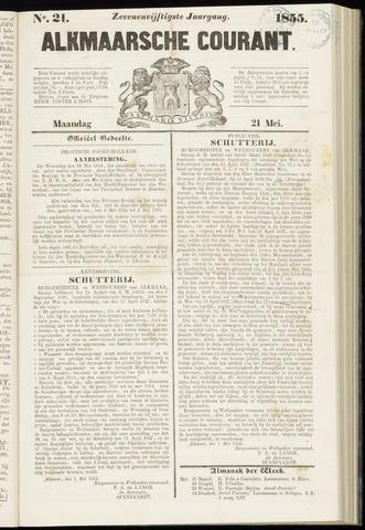 Alkmaarsche Courant 1855-05-21