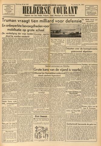 Heldersche Courant 1950-07-20
