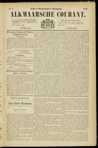Alkmaarsche Courant 1893-01-06