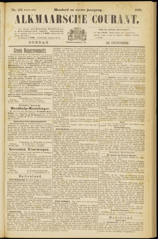 Alkmaarsche Courant 1899-10-22