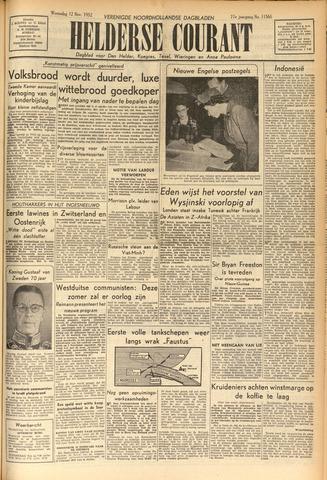 Heldersche Courant 1952-11-12