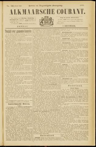 Alkmaarsche Courant 1895-12-01