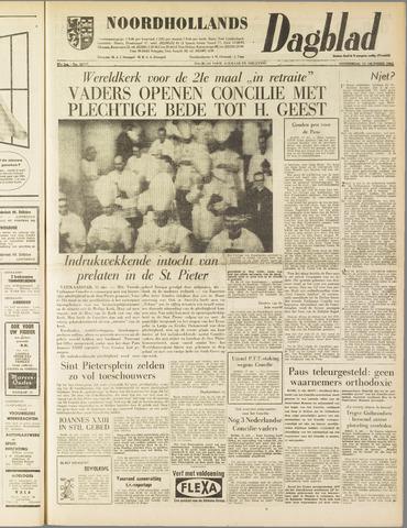 Noordhollands Dagblad : dagblad voor Alkmaar en omgeving 1962-10-11
