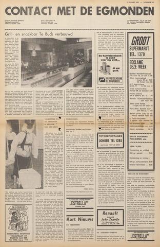 Contact met de Egmonden 1971-03-17