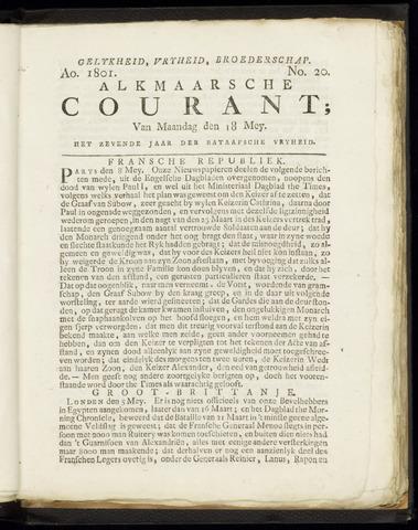 Alkmaarsche Courant 1801-05-18