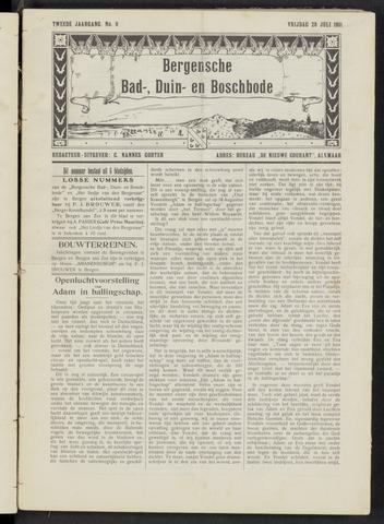 Bergensche bad-, duin- en boschbode 1911-07-28
