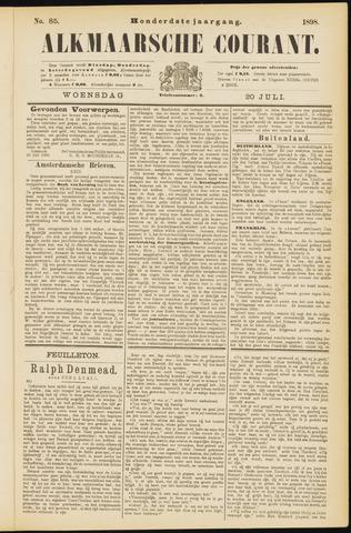 Alkmaarsche Courant 1898-07-20