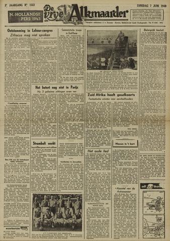 De Vrije Alkmaarder 1949-06-07