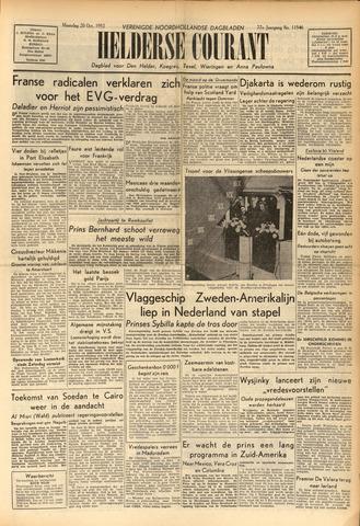 Heldersche Courant 1952-10-20