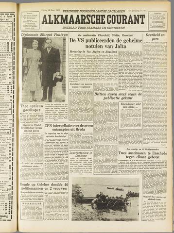 Alkmaarsche Courant 1955-03-18
