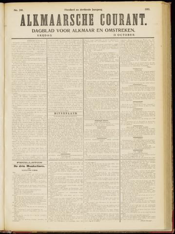 Alkmaarsche Courant 1911-10-13