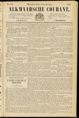 Alkmaarsche Courant 1898-12-09