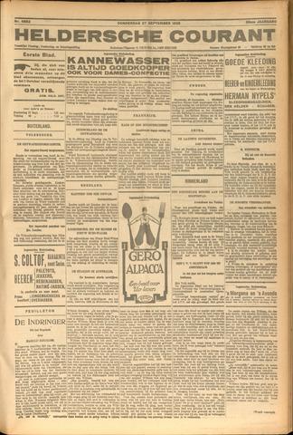 Heldersche Courant 1928-09-27