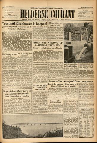 Heldersche Courant 1955-09-27