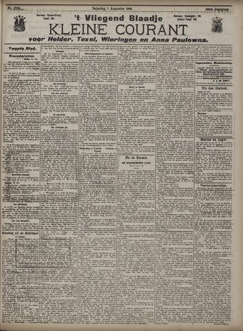 Vliegend blaadje : nieuws- en advertentiebode voor Den Helder 1908-08-01
