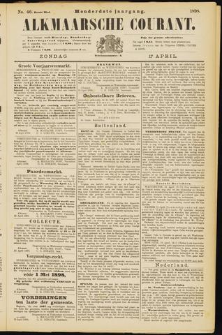 Alkmaarsche Courant 1898-04-17