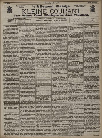 Vliegend blaadje : nieuws- en advertentiebode voor Den Helder 1907-05-01