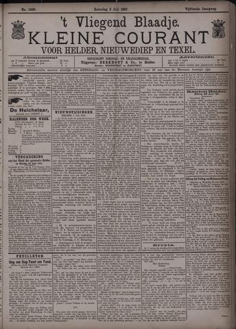 Vliegend blaadje : nieuws- en advertentiebode voor Den Helder 1887-07-02