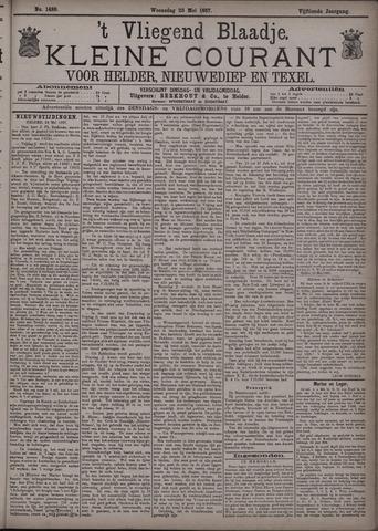 Vliegend blaadje : nieuws- en advertentiebode voor Den Helder 1887-05-25