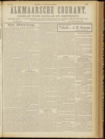 Alkmaarsche Courant 1916-09-29