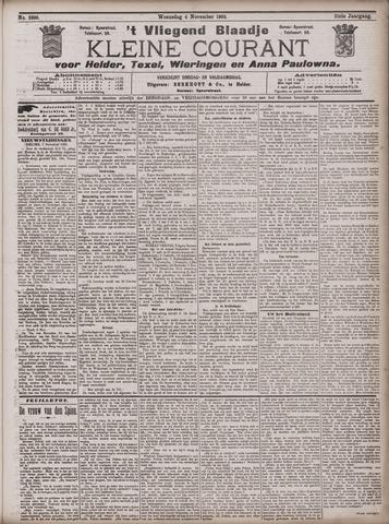 Vliegend blaadje : nieuws- en advertentiebode voor Den Helder 1903-11-04