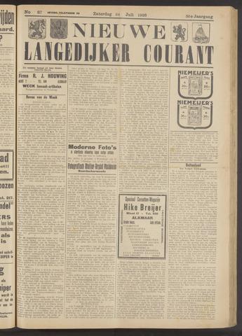 Nieuwe Langedijker Courant 1926-07-24