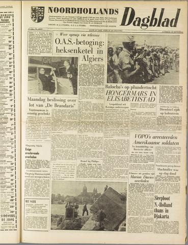 Noordhollands Dagblad : dagblad voor Alkmaar en omgeving 1961-09-23