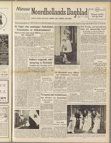 Nieuw Noordhollandsch Dagblad : voor Alkmaar en omgeving 1950-02-17
