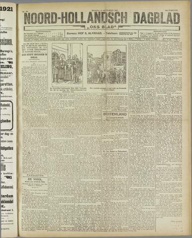 Ons Blad : katholiek nieuwsblad voor N-H 1921-09-27