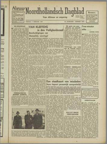 Nieuw Noordhollandsch Dagblad : voor Alkmaar en omgeving 1946-02-08
