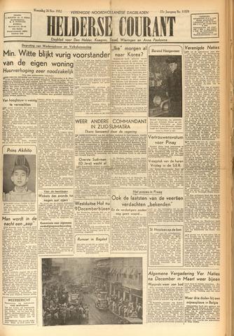 Heldersche Courant 1952-11-26