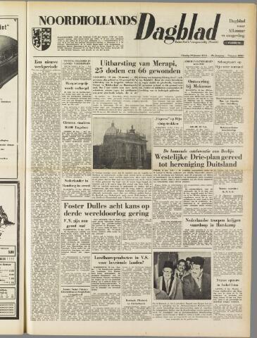 Noordhollands Dagblad : dagblad voor Alkmaar en omgeving 1954-01-19